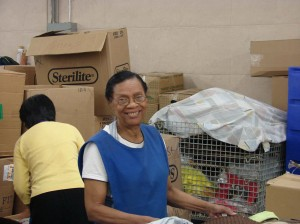 Jane Jules-Louis has been working for Goodwill Industries of Greater New York and Northern New Jersey for 24 years - all spent sorting housewares. She certainly knows her shams from her bedskirts.