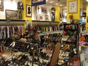 Pumps, heels, sandals, oh my! The Goodwill Chelsea store has the perfect shoes for you - but the real challenge is which pair to choose...