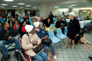 110 brand new wheelchairs were donated to those in need - all thanks to Sharleen Conant, The Wheelchair Foundation, and Goodwill here in NY and NJ.