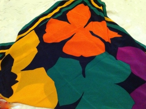 Goodwill Gems: Silk Scarves for Spring