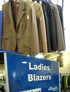 Goodwill Essentials: The Blazer