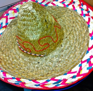No Cinco de Mayo party ensemble would be complete with a celebratory sombrero like this one!