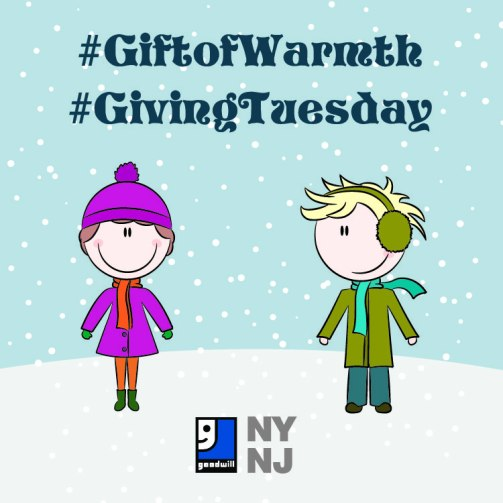 #GivingTuesday #GiftofWarmth