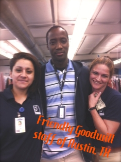 Staff of the Austin Goodwill