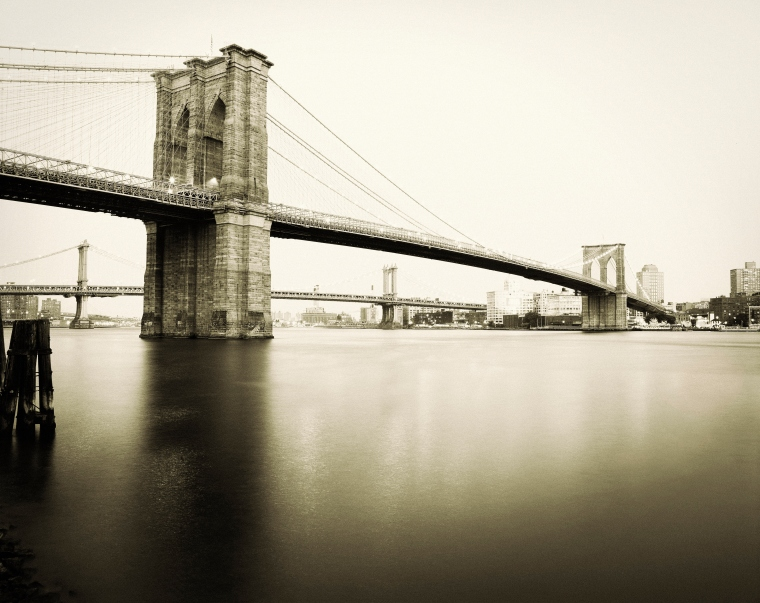 Brooklyn Bridge East River New York City