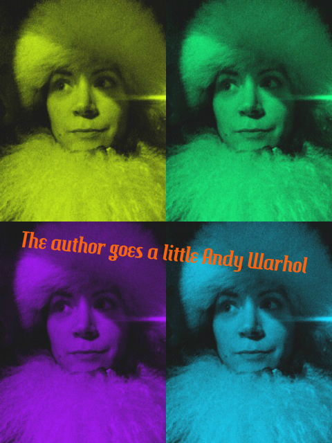 Brandee goes Andy Warhol