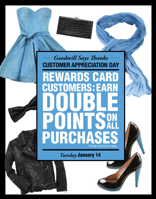 receive double reward points on january 14