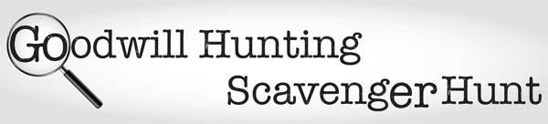 Goodwill Hunting Scavenger Hunt