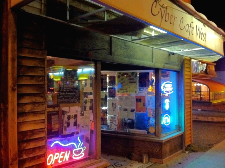 Cyber Cafe Exterior