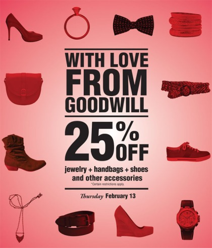 25% off jewelry handbags shoes and other accessories