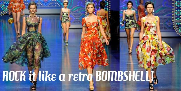 Be a retro bombshell