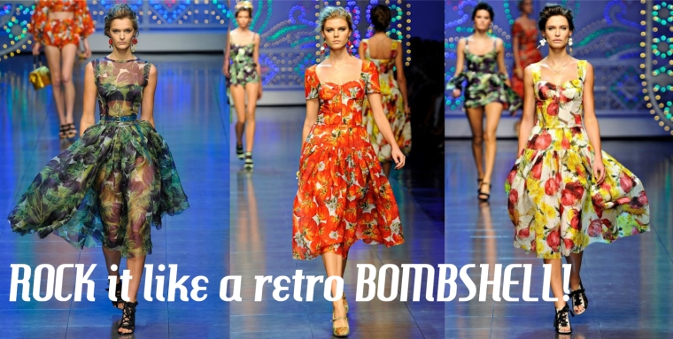 Be a retro bombshell