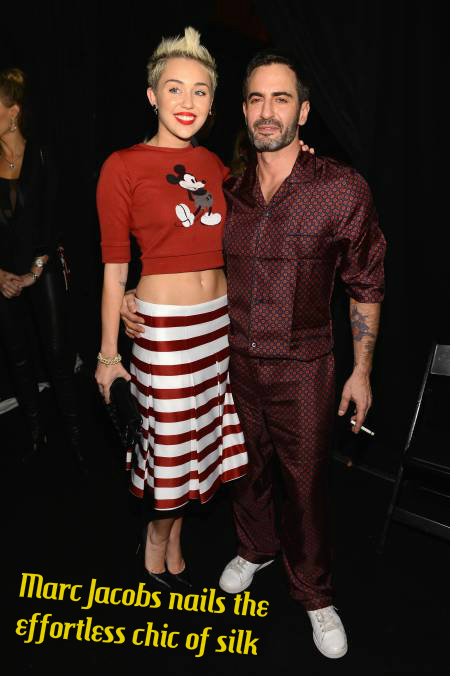 Miley Cyrus & Marc Jacobs