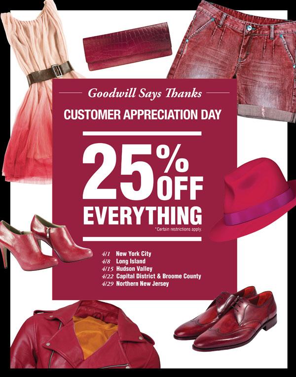 Customer Appreciation Sales