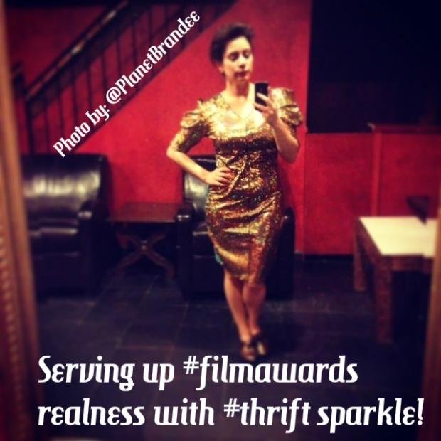 sparkle thrift dress