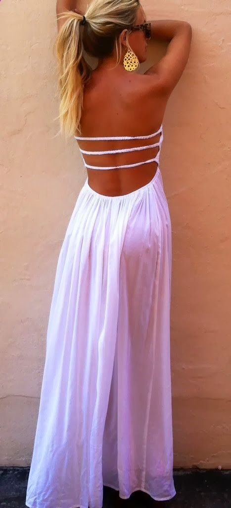 backless maxi