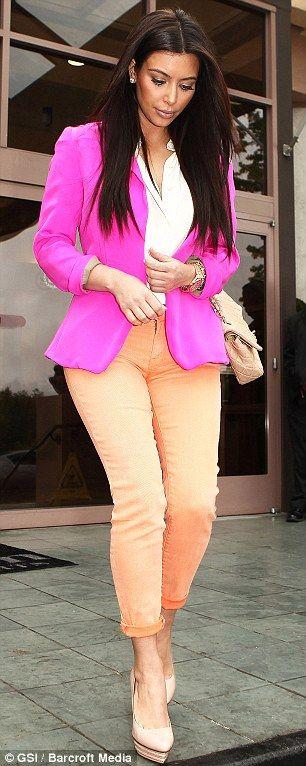 Kim K blazer style