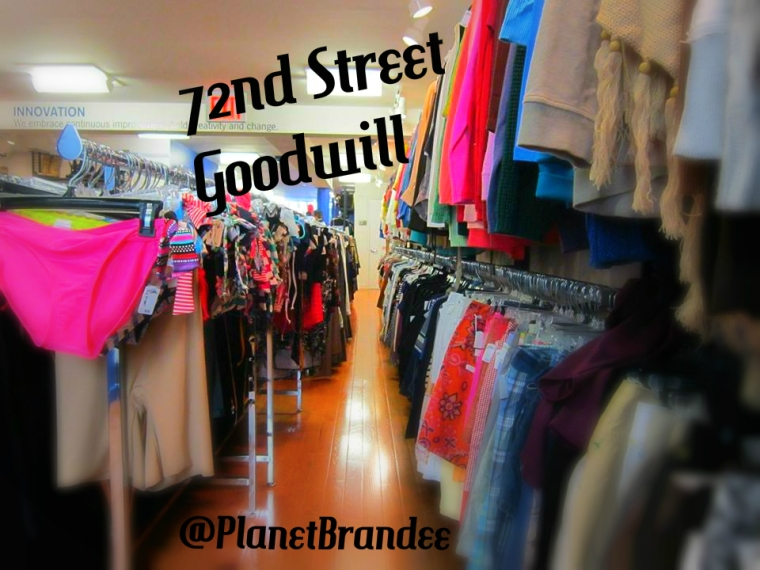 72nd Street Goodwill Boutique clothing
