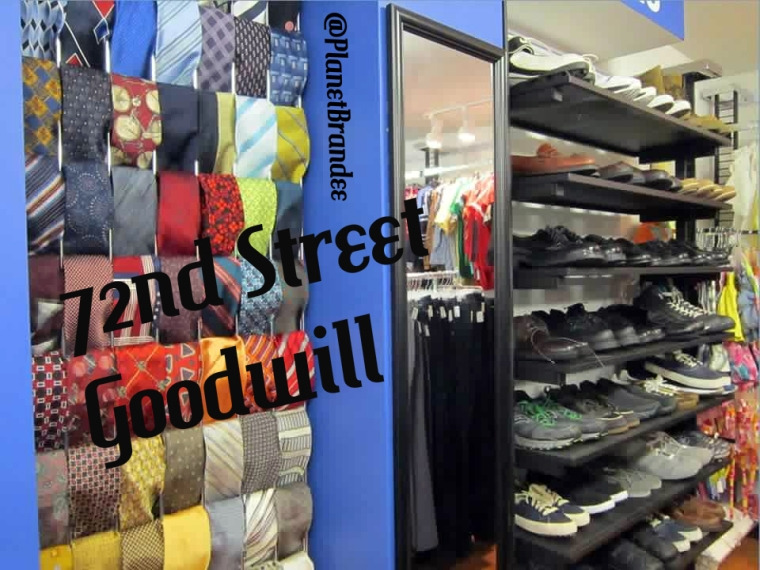 72nd Street Boutique tie rack