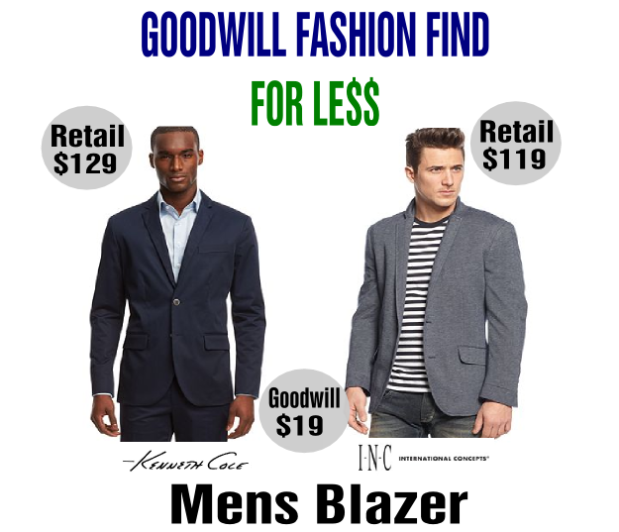 mens blazers for less