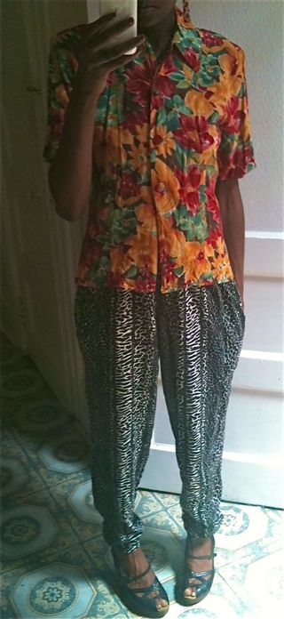 floral and animal print