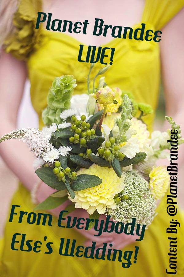 PlanetBrandee LIVE From Everybody Elses Wedding