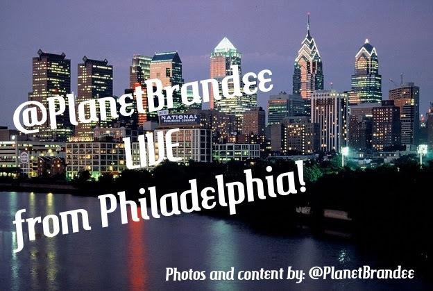 PlanetBrandee LIVE From Philadelphia