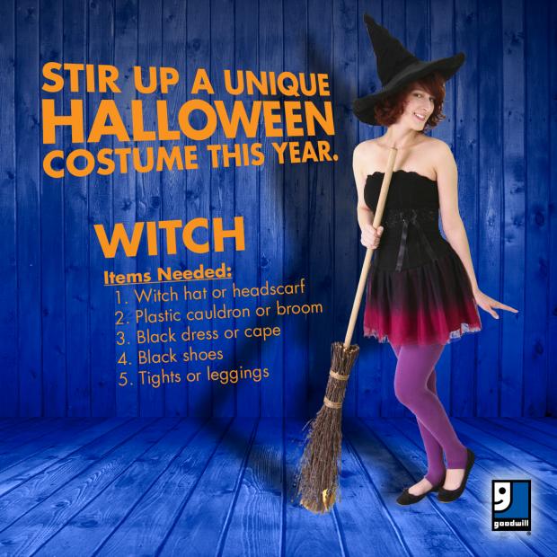 Halloween at Goodwill