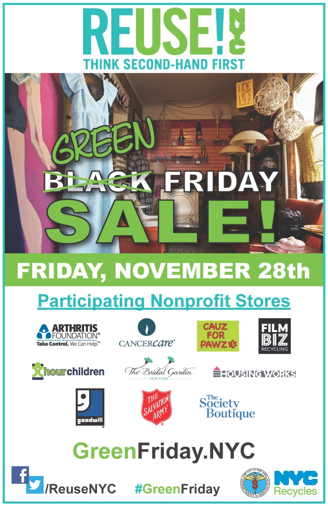 ReuseNYC Green Friday Poster 2014 v5