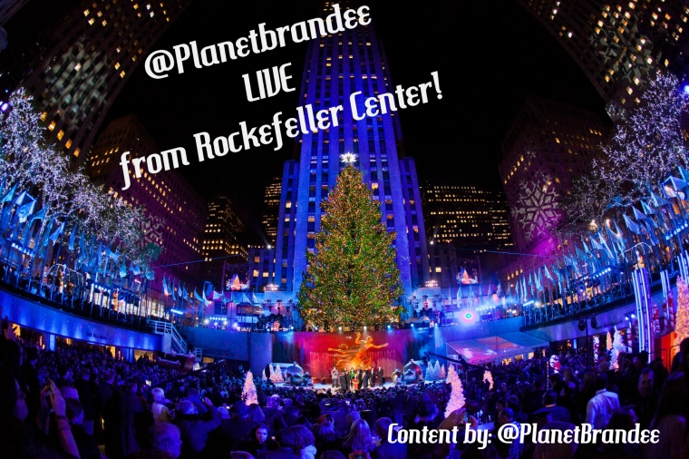 PlanetBrandee LIVE From Rockefeller Center