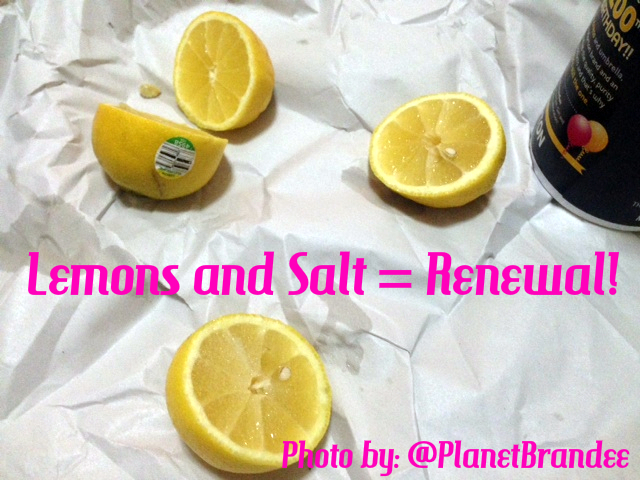 salt and lemons