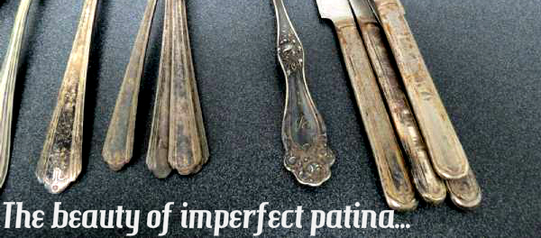the beauty of imperfect patina