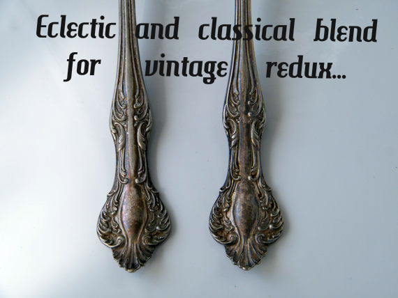eclectic and classical blend for vintage redux