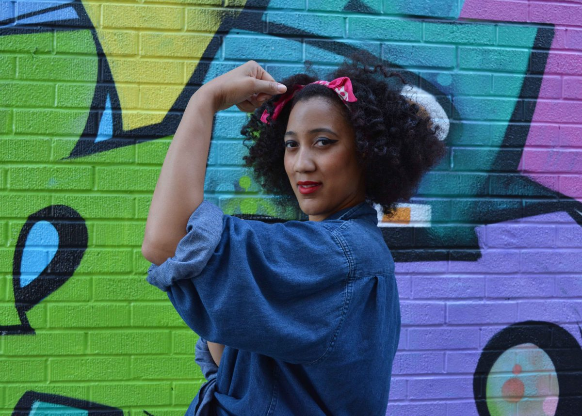 DIY Halloween Costume: Rosie the Riveter