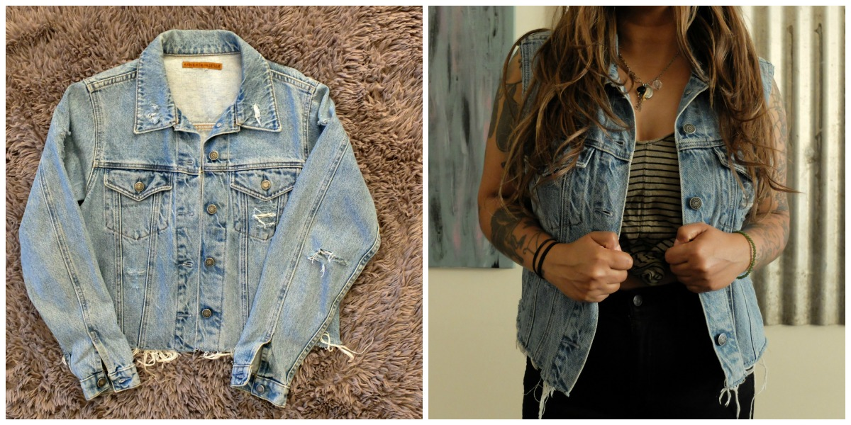 DIY: Denim DIY Vest w/ @thefabjunkie