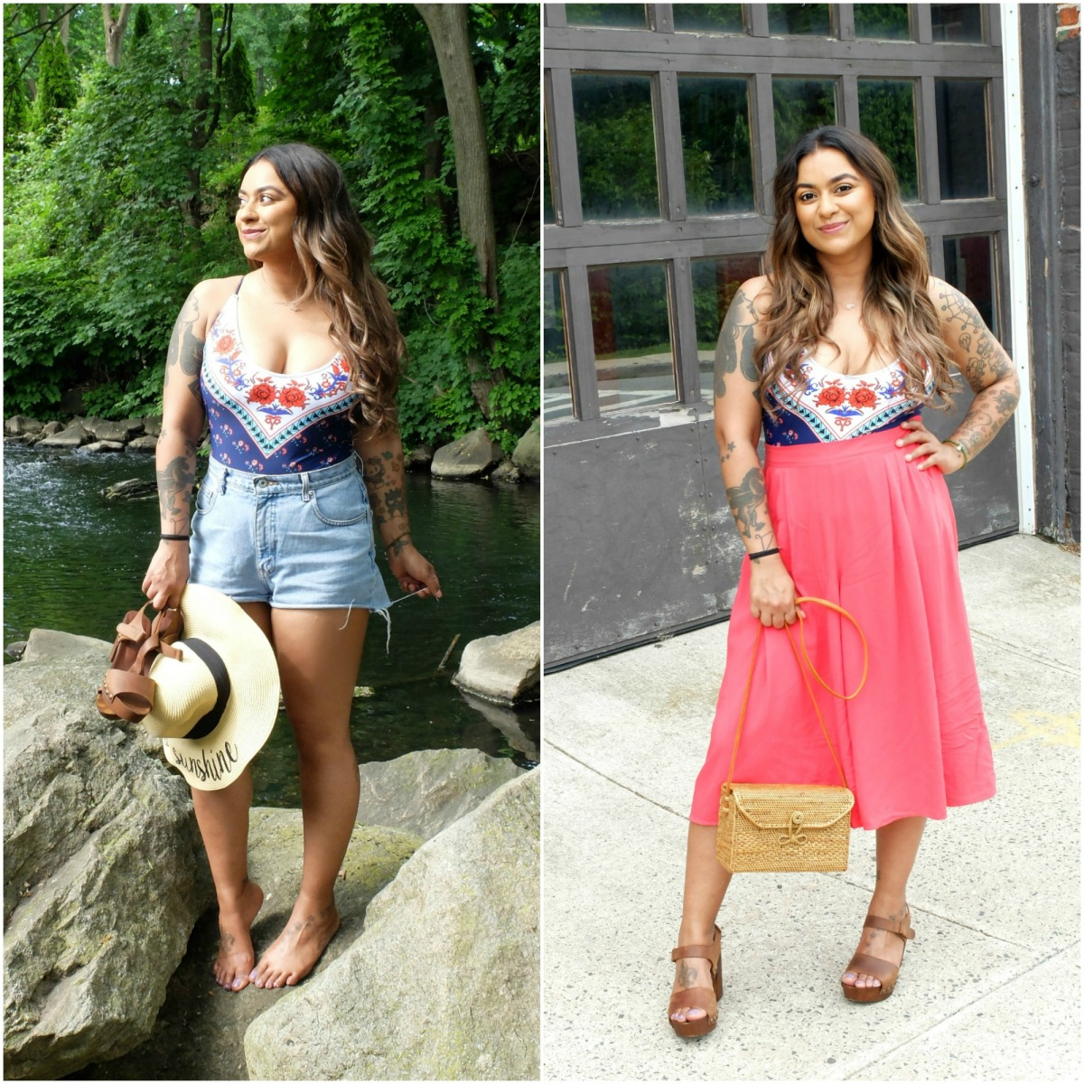 Bathing Suit: From Beach to Brunch w/@thefabjunkie