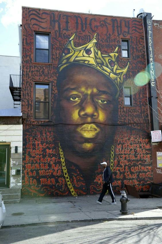 Notorious BIG Mural