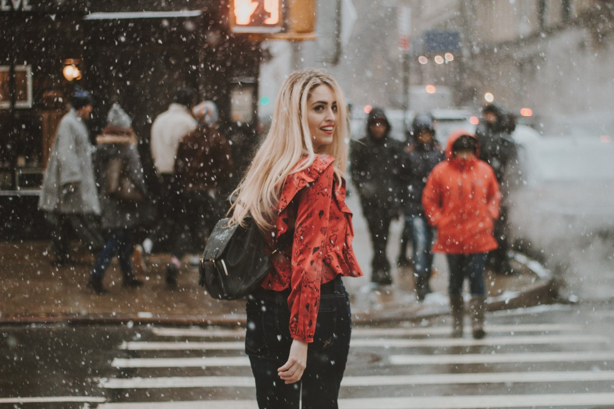 Winter Glamour On A Budget